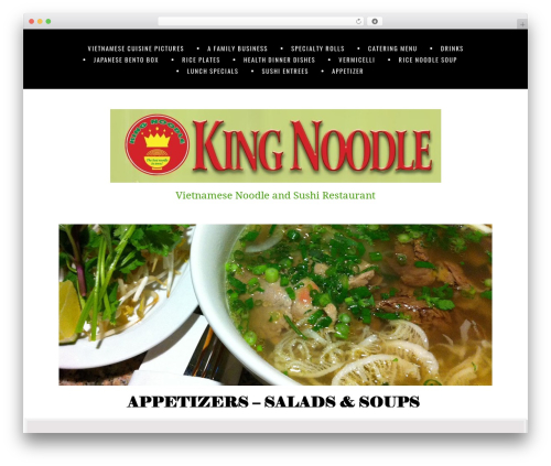 WordPress website template Jomsom - kingnoodlecedarpark.com