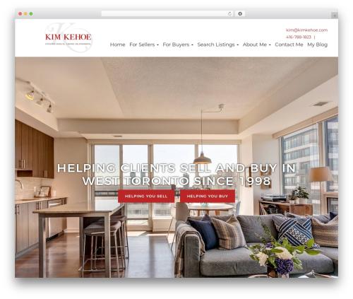 WP template Kim Kehoe Theme - kimkehoe.com