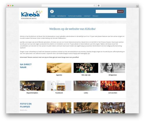 Yasmin top WordPress theme - kikoba.nl