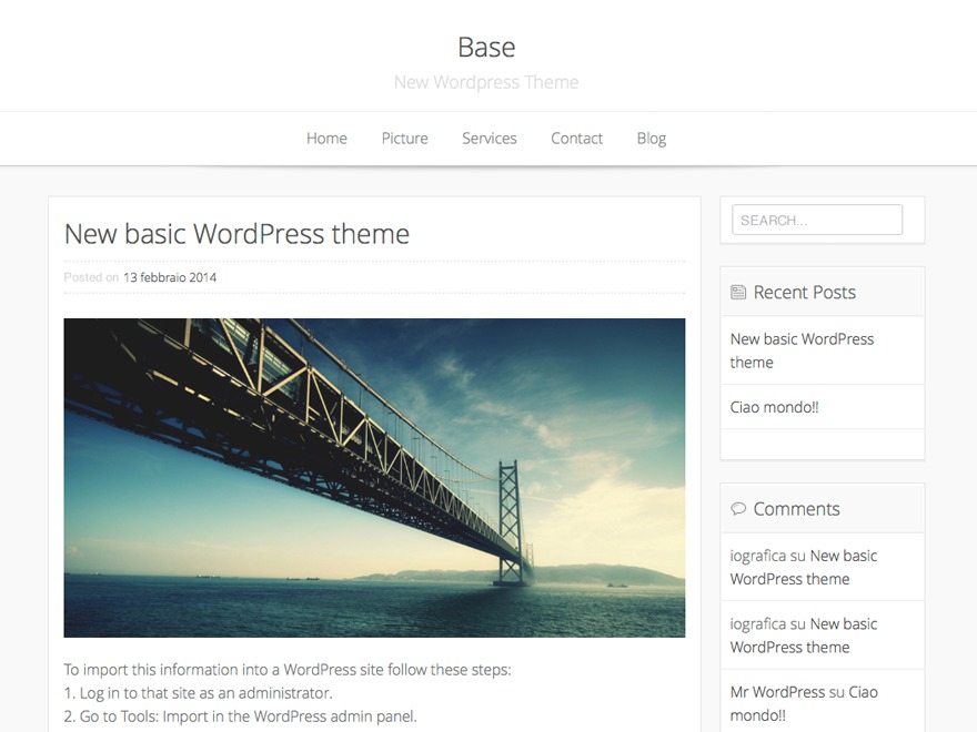 Alaabalkhytheme WordPress template