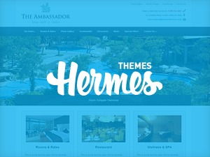 Ambassador best hotel WordPress theme