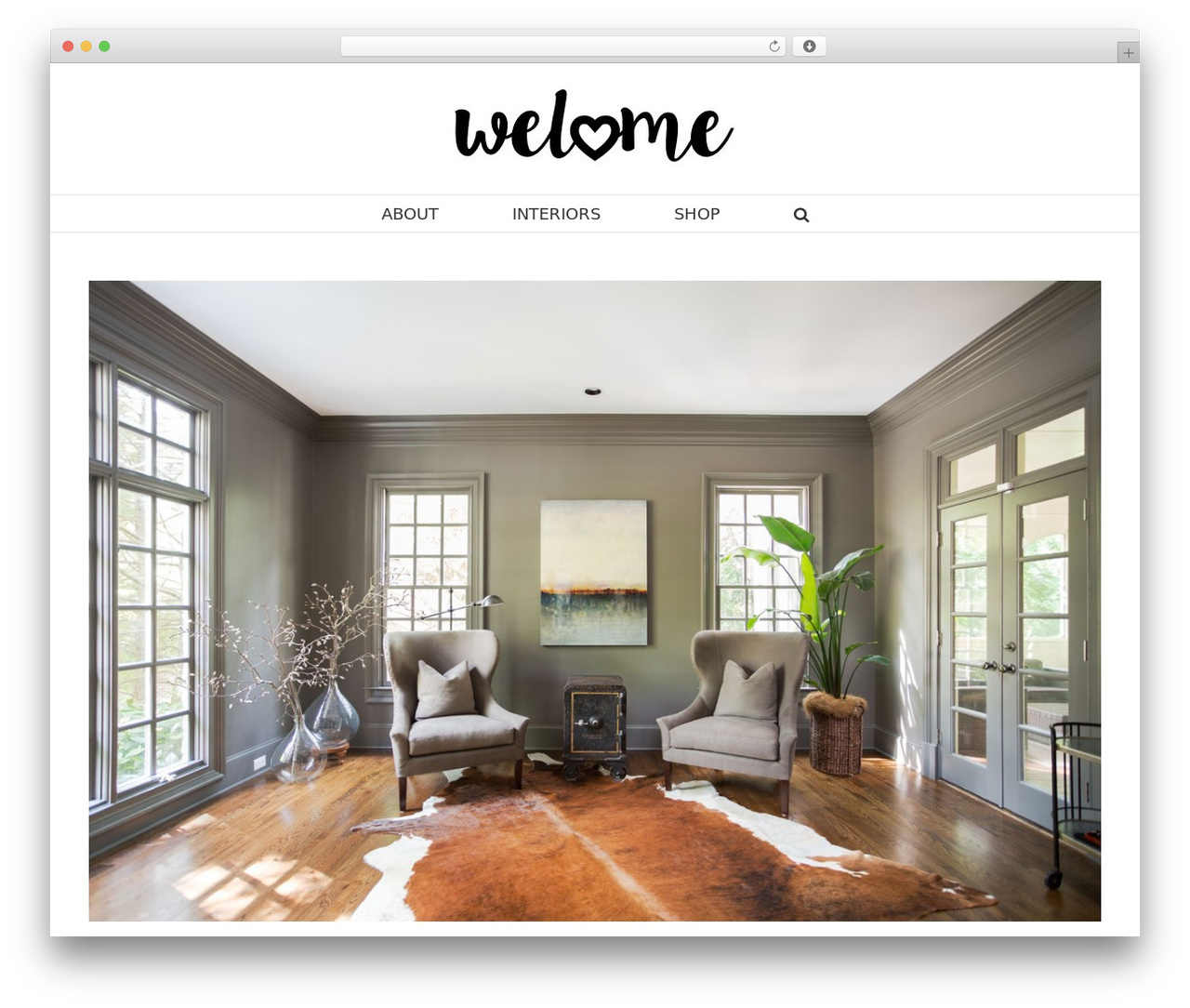 Avada premium WordPress theme - welome.com