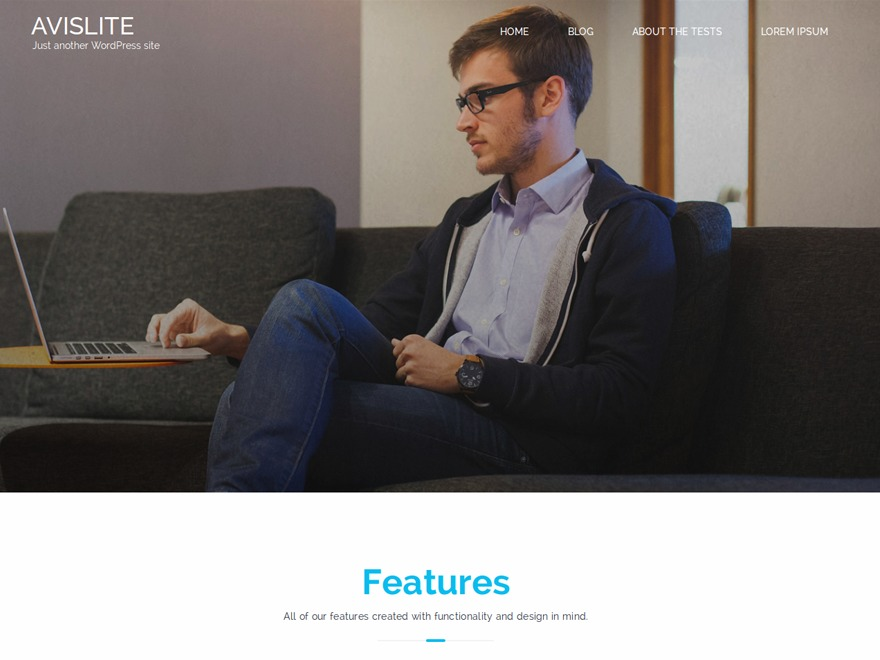 Avis Lite free WordPress theme
