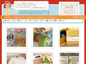Bee Crafty Child Theme WordPress theme design