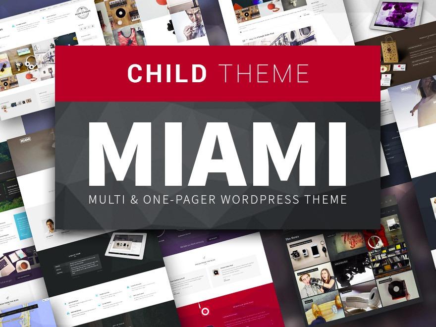 Best WordPress theme Miami