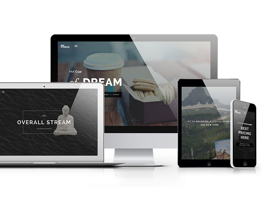 BigStream WordPress theme