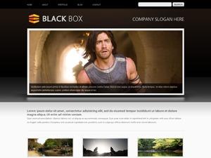 BlackBox WordPress portfolio template