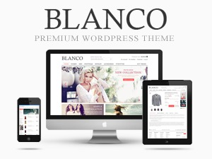 Blanco theme WordPress