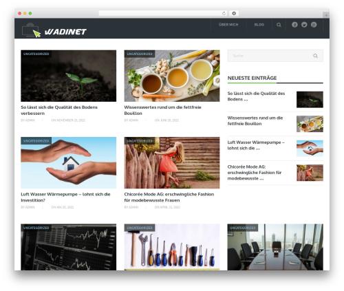 Blogging By MyThemeShop WordPress shopping theme - wadinet.at