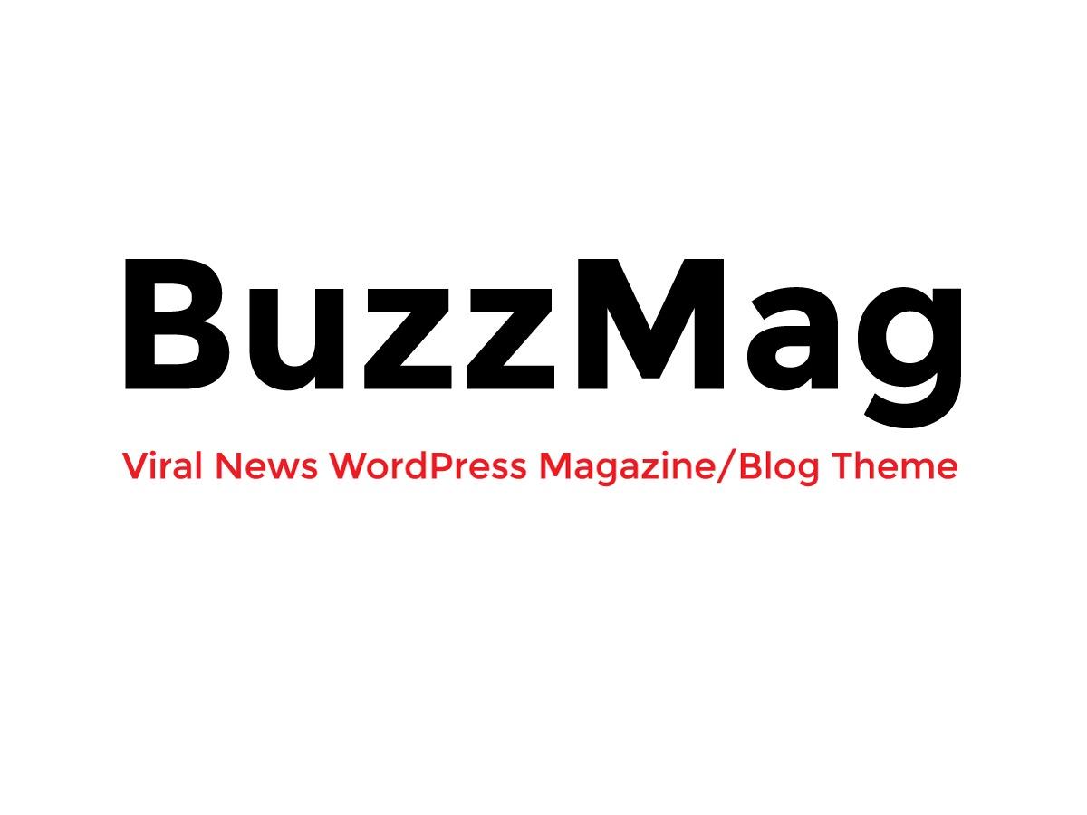 BuzzMag WordPress magazine theme
