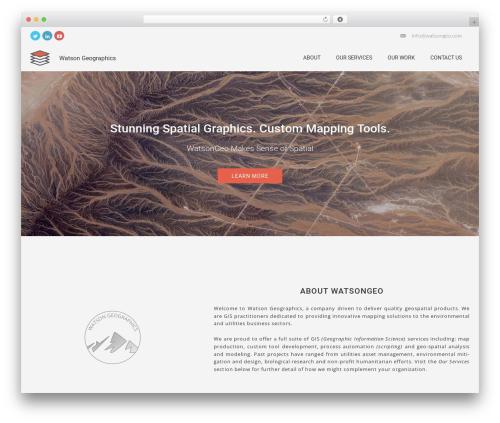 Cannyon_ WordPress theme - watsongeo.com