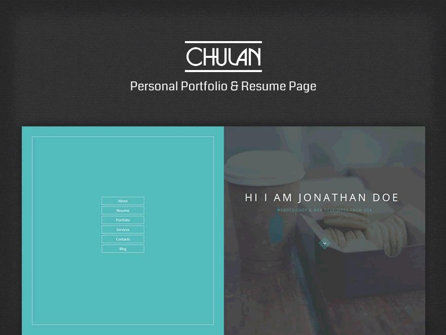 Chulan WP theme
