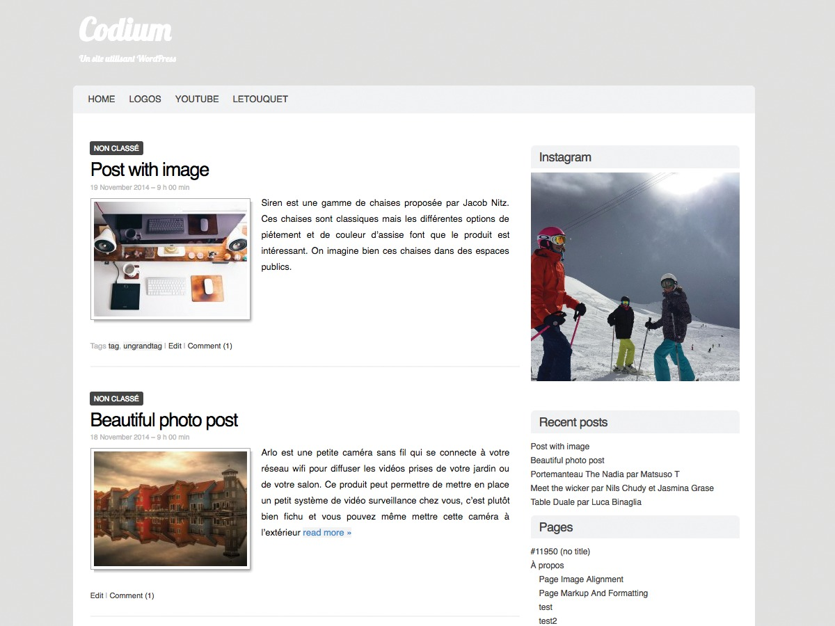 Codium WordPress theme free download