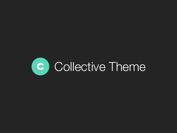 Collective company WordPress theme