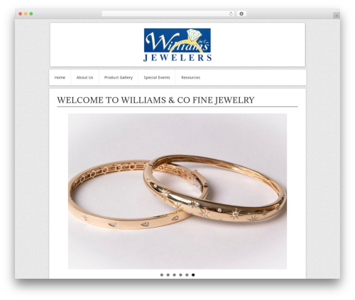 Contango Pro theme WordPress - williamsfinejewelry.com