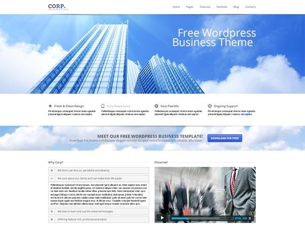Corp | Multipurpose Wordpress Theme WordPress theme