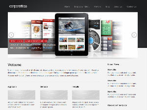 corporattica theme WordPress
