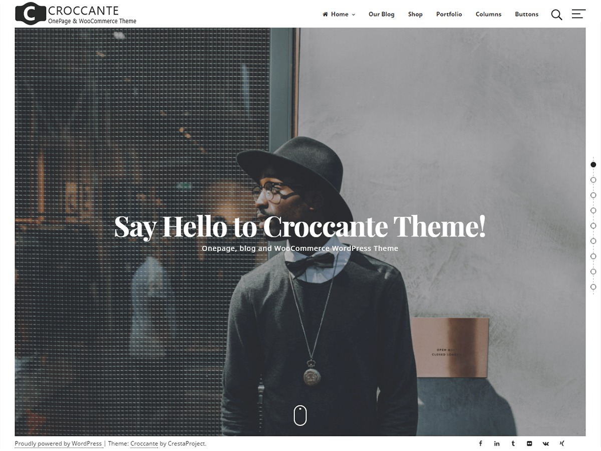 Croccante best WooCommerce theme