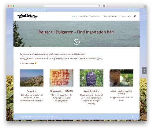 WordPress megamenu-pro plugin - waffehus.dk