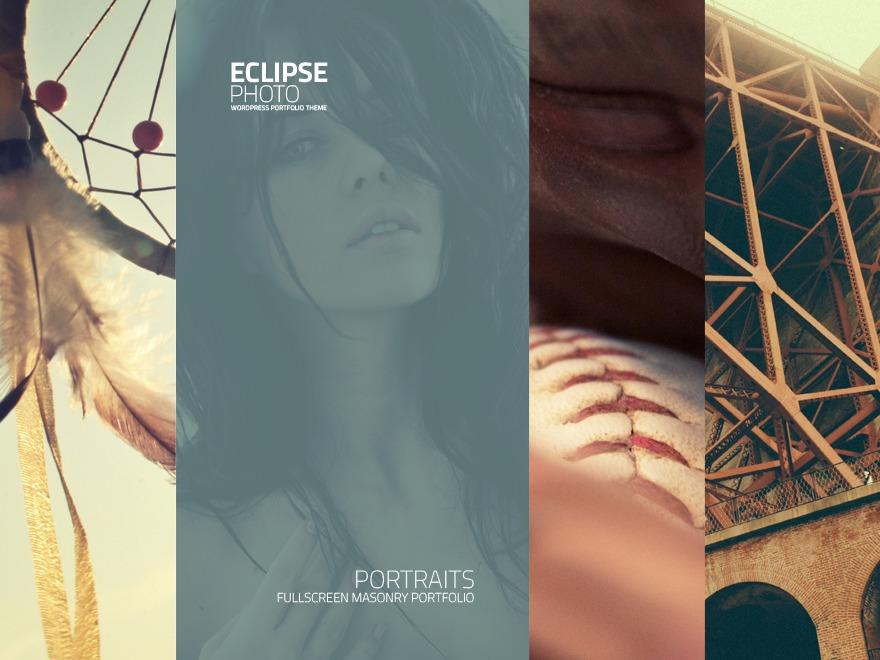Eclipse Photo photography WordPress theme