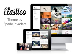 Elastico WordPress portfolio theme