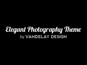 Elegant Photography Theme WordPress theme image