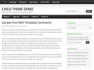 Fairway Child Theme WordPress template