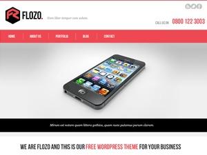 FloZo business WordPress theme