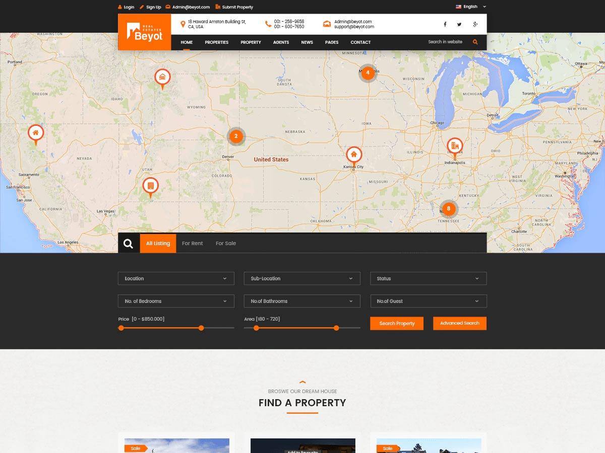 G5 Beyot WordPress real estate