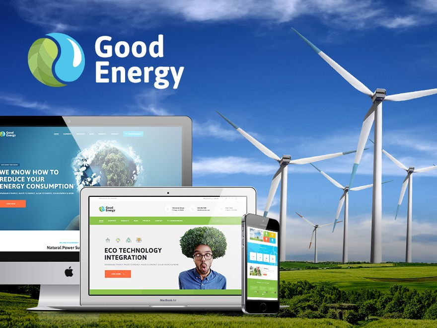 GoodEnergy WordPress template