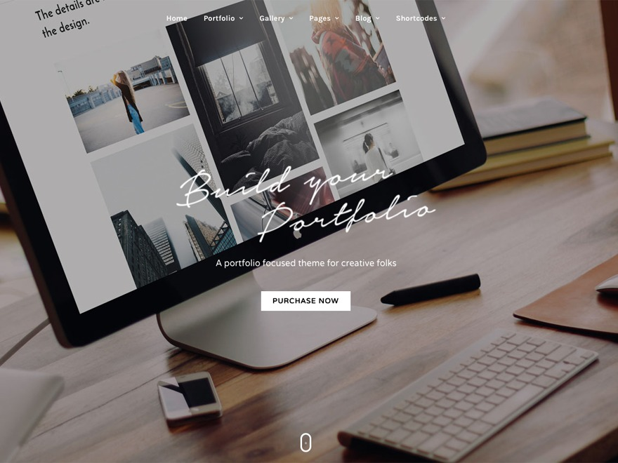 GrandPortfolio WordPress portfolio theme
