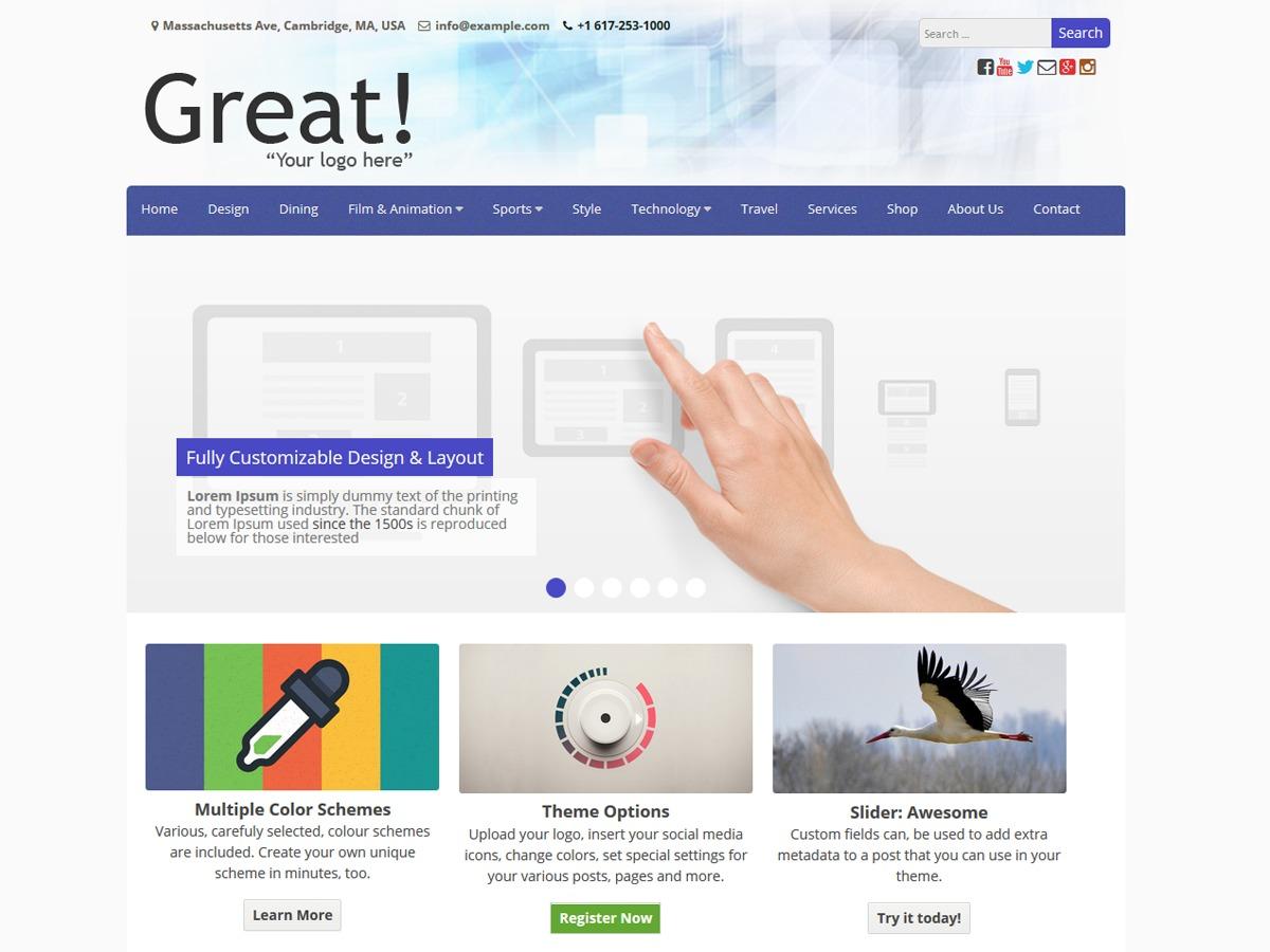 Great best WordPress magazine theme
