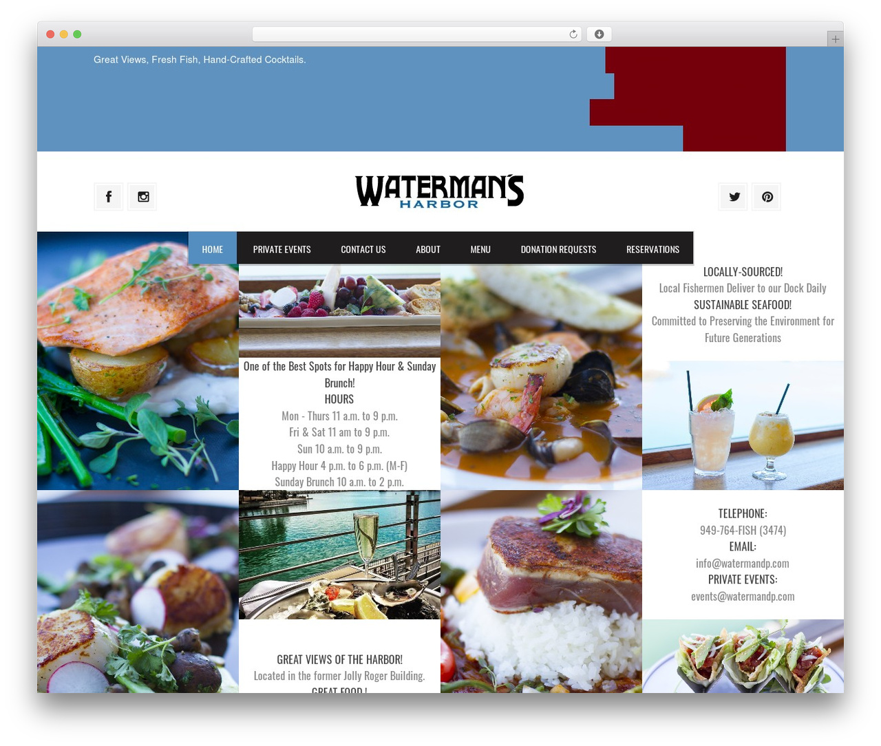 Grill Best Restaurant Wordpress Theme By Croma Watermandp Com