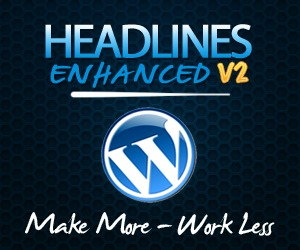 Headlines Enhanced WP template