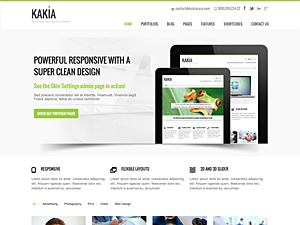Kakia business WordPress theme