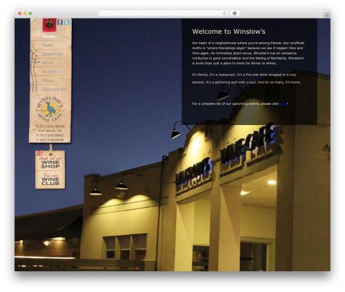 King Size WordPress WordPress theme - winslowswinecafe.com