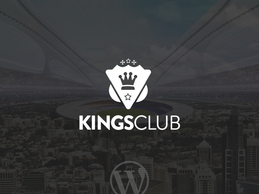 Kings Club WordPress gallery theme