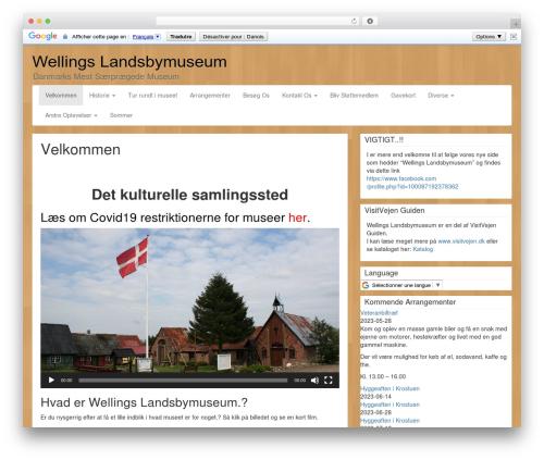 LineDay template WordPress - wellings.dk/da_DK