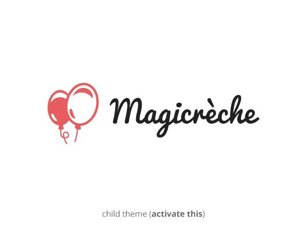 Magicreche Child best WordPress theme