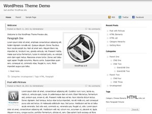 Nest top WordPress theme