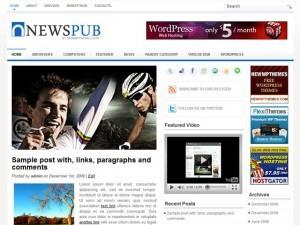NewsPub newspaper WordPress theme