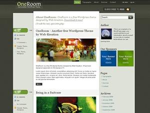 OneRoom WordPress theme