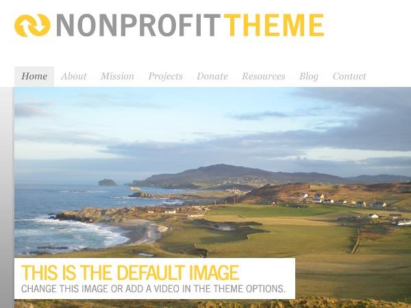 Organic-NonProfit WP theme