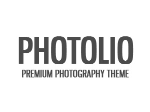 Photolio WordPress blog template