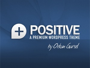 Positive top WordPress theme