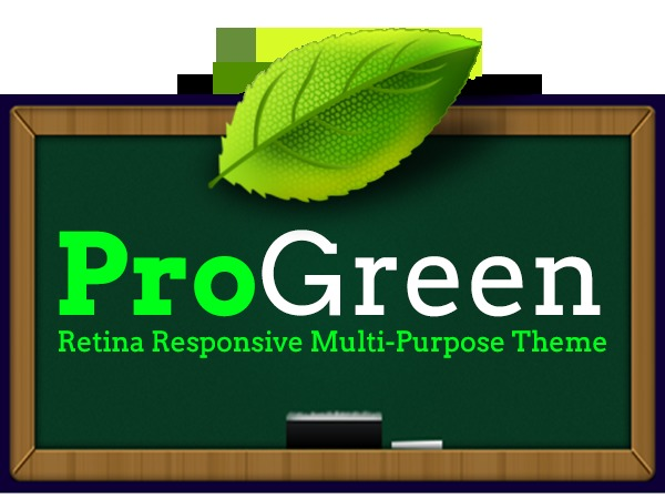 ProGreen WP template