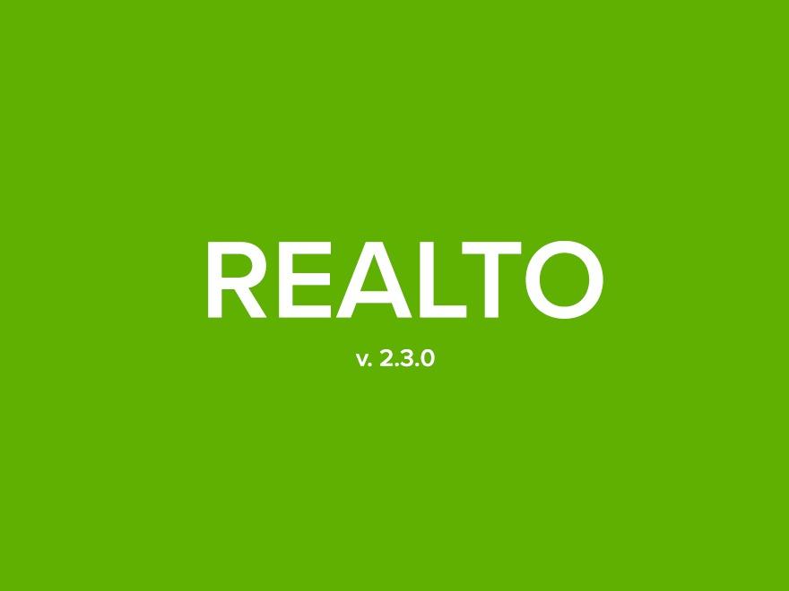 RealTo real estate WordPress theme