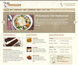 Restaurant Version v1.1 WordPress restaurant theme