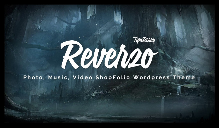 Reverzo WordPress template for business