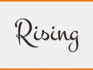Rising best WordPress template
